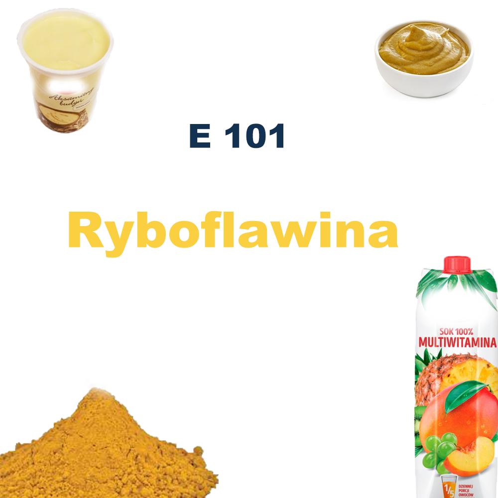 E 101 – Ryboflawina