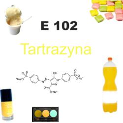 E 102 Tartrazyna