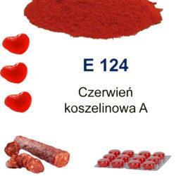 E 124 – Czerwień koszelinowa A