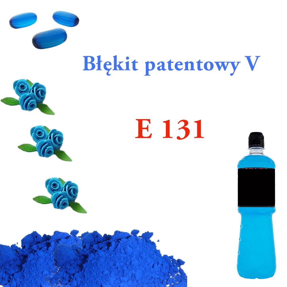 E 131 Błękit patentowy V
