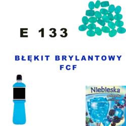 E 133 Błękit brylantowy