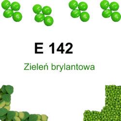 E 142 Zieleń brylantowa