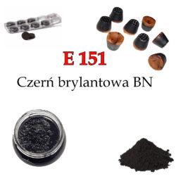 E 151- Czerń brylantowa BN