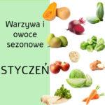 Warzywa i owoce sezonowe w styczniu