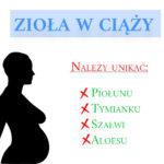 Zioła zakazane w ciąży